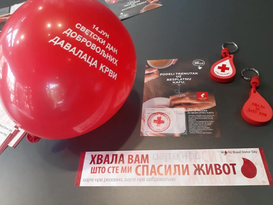 У Смедереву обележен СВЕТСКИ ДАН ДОБРОВОЉНИХ ДАВАЛАЦА КРВИ, 14. јун
