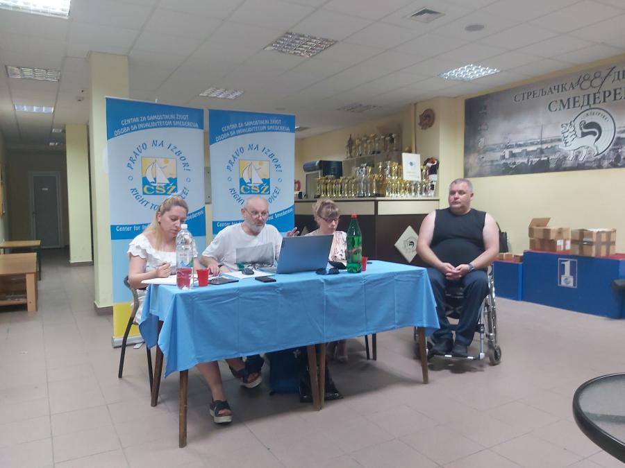 Подршка самосталном животу особа са инвалидитетом