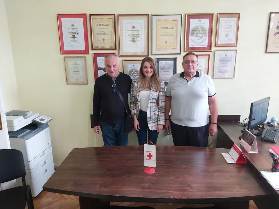 Посета Црвеном крсту Пожаревац